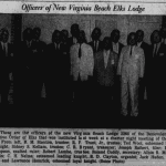 First Officers of Virginia Beach Elks Lodge #2268